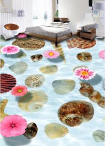 3D Seashell Petal Sea 79 Floor WallPaper Murals Wall Print Decal AJ WALLPAPER US