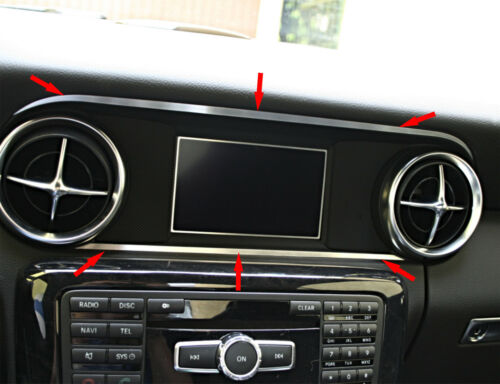 Mercedes SLK 172 Zierleisten über+unter Display Alu R172 FL 280 200 350 AMG55
