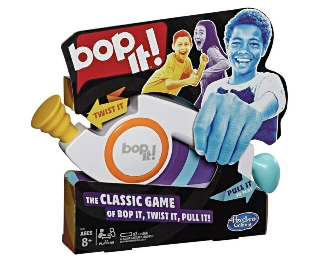 Hasbro BOP IT Hand-Held Toy Twist Pull Fun Game 2008 New