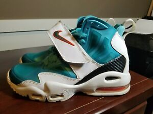 new style f24bd 178ab Image is loading Nike-Air-Max-Express-2012-Miami-Dolphins-RARE-