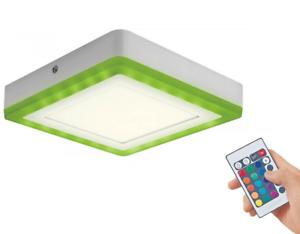 und Deckenleuchte RGB Leuchte für Innenanwendungen Warmweiß Osram 19W LED Wand