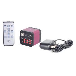 HAYEAR-NEW-14MP-TV-HDMI-USB-Industry-Digital-C-mount-Microscope-Camera-TF-Video