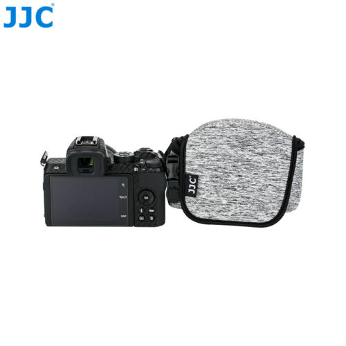Lente 16-50mm Nikon HN-40 Parasol Cámara JJC bolsa caso bolsa para Nikon Z50