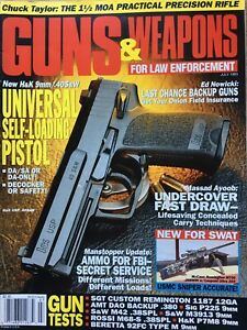 Guns-amp-Weapons-For-Law-Enforcement-July-1993-New-H-amp-K-9mm-40-S-amp-W
