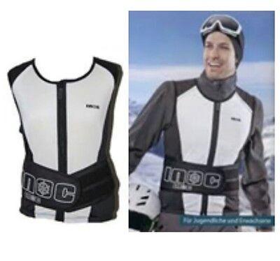 Wirbelsäule Schutz Weste GRÖSSEN S XL Ski Snowboard Inoc Erwachsene Rücken