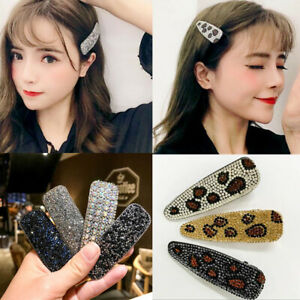 Fashion-Girls-Crystal-Hair-Clips-Stick-Snap-Barrette-Pin-Bobby-Hair-Accessories