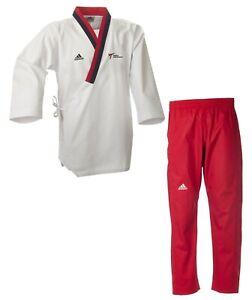adidas Poomsae-Uniform Jugend weiblich Taekwondo-Anzug Taekwondoanzug - WT-Logo