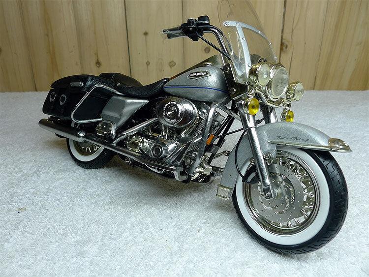 1  10 - ertl harley - davidson sechzehn motorrad - druckguss - modell selten
