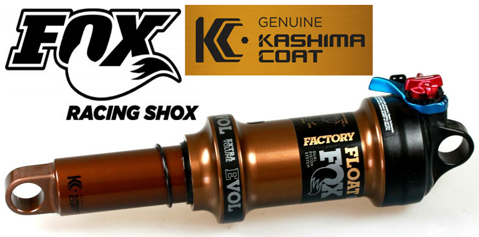 Fox Suspension Float Factory DPS Kashima Eval Rear Shock 184mm44mm MTB Bike