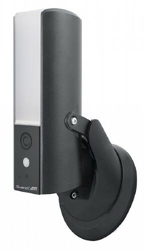 CAMERA AND PIR BLACK AND SILVER IN STOCK!!! GUARDCAM DECO COMBINED LED LIGHT