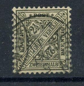 Old-Germany-Wurttemberg-Dienst-1916-Mi-237-1-Postmarked