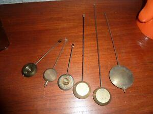 Pendulums For Antique Clocks Ebay