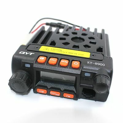 TOP SELLING QYT KT8900 Mini Mobile Radio Transceiver + Programming Cable
