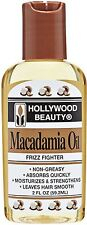 Hollywood Beauty Macadamia Oil, 2 oz (Pack of 3)