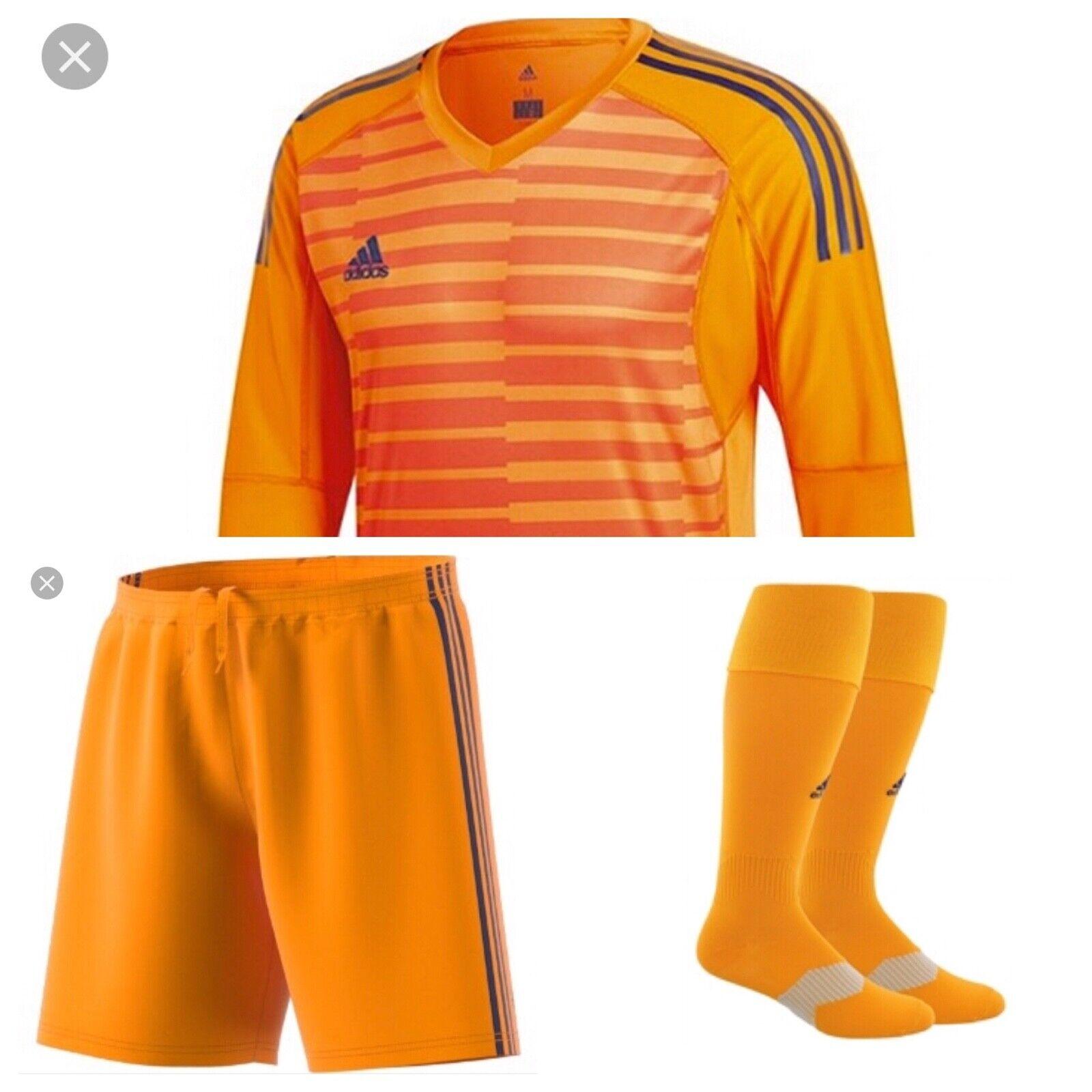 Adidas Adipro 18 Condivo 18 uomini's Goalkeeper Kit nuovo aranciaNavy