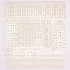 Lego Technic White Studless Beams Liftarms Bricks - Selection of 100 Parts - NEW