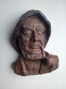 sculpture visage homme