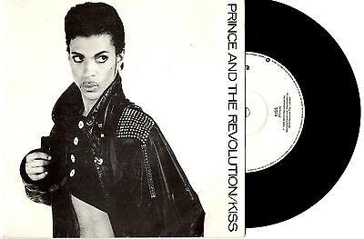 "PRINCE - KISS / LOVE OR MONEY - 7"" 45 VINYL RECORD PIC SLV 1986"