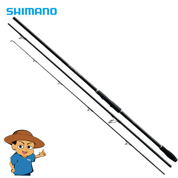 Shimano BORDERLESS CASTING MODEL 345H6 11'3 fishing spinning rod from JAPAN