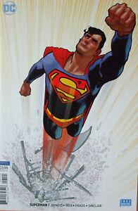 SUPERMAN-1-Adam-Hughes-Variant-Cover-2018-DC-comics-NM