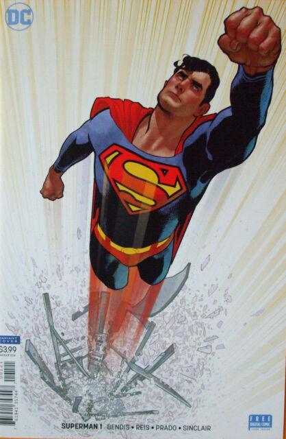 SUPERMAN #1    ( Adam Hughes Variant  Cover)    2018 DC comics      NM+