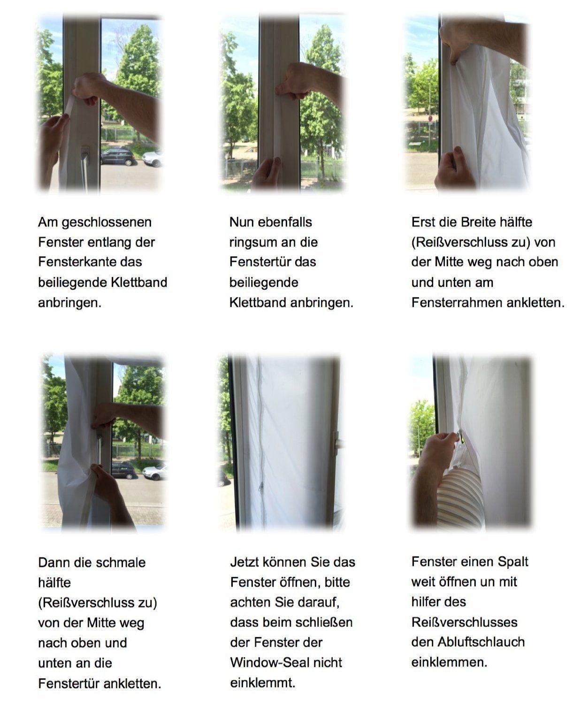 Air Stop Revitalisant Outlet Fenêtre D'étanchéité Kit for Mobile Air Conditioner 3