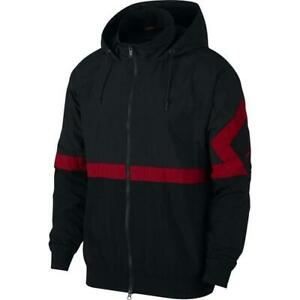 deportiva 010 para Aq2683 Nike hombre Jsw Air Xl Jordan Diamond Bred Chaqueta Black Red Sz gqXOv