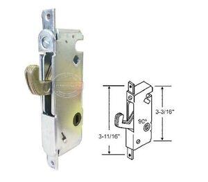 Image is loading Sliding-Patio-Door-Mortise-Lock-w-o-Faceplate-90-  sc 1 st  eBay & Sliding Patio Door Mortise Lock w/o Faceplate 90 Degree 3-11/16 ... pezcame.com