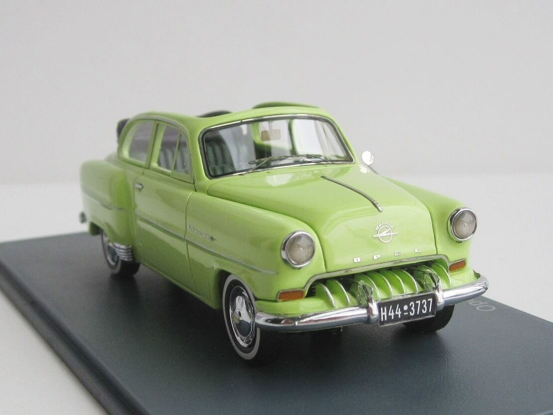 Opel Olympia Cabriolet 1954 Limousine Cabriolet 1 43 Neo Scale Models Neo 43737