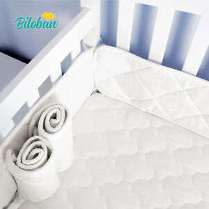 the best attitude 3850b 2ef65 Details about Breathable Portable Baby Crib Bumper Pads for Mini Crib  Padding 24