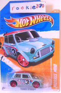 2011 Hot Wheels Track Stars 75 Morris Mini Cooper Classic
