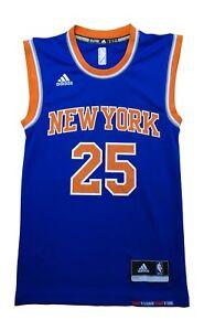 Adidas New York Knicks Rose 25 Mens Nba Basketball Jersey Vest ... 70535fdce8ecf