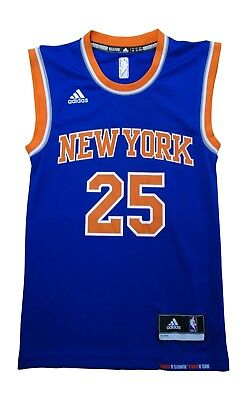 premium selection efb18 2ca46 Adidas New York Knicks Rose 25 Mens Nba Basketball Jersey Vest CB9995 | eBay