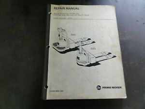 BT-Prime-Mover-RMX-HMX-Electric-Pallet-Truck-Forklift-Repair-Manual