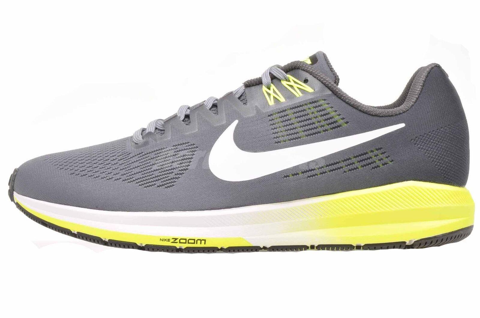 Nike Air Zoom Struktur 21 4E Wide Laufen Herren Laufen schuhe grau 904697-007