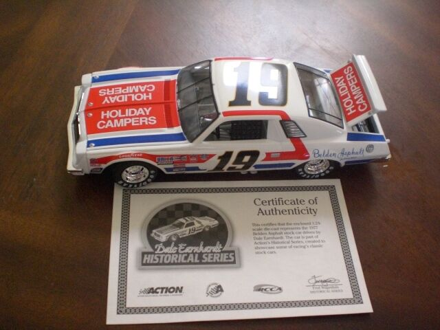 Action 1977 Historical Chevrolet Malibu  19 Dale Earnhardt Belden Asphalt 1 24