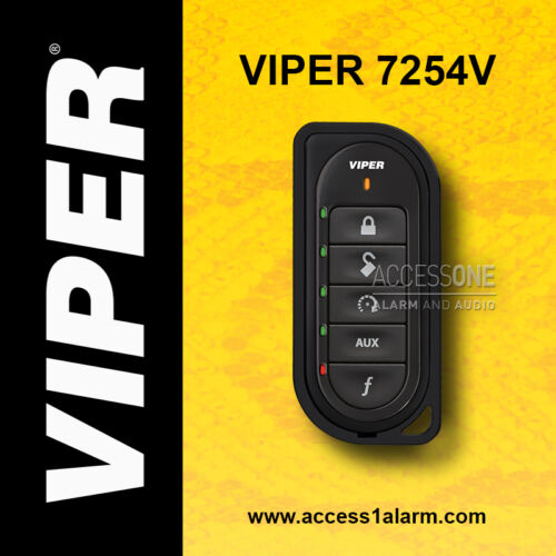 Viper 7254V 2-Way LED Remote Control Replacement Transmitter Fob For Viper 4202V