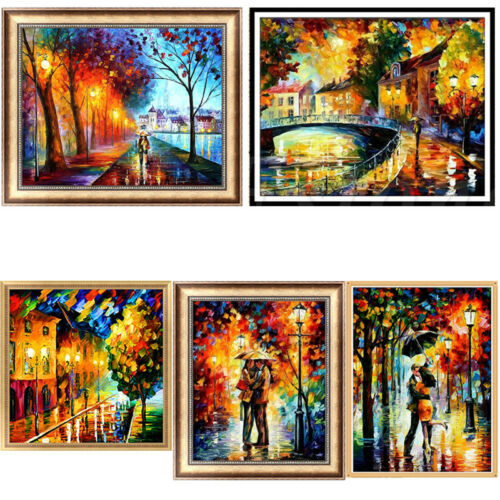 DIY 5D Abstract Diamond Painting Embroidery Cross Crafts Stitch Home Decor