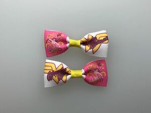 Mini Peanuts Snoopy Hair Bows with Alligator Clips