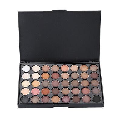 40 colores maquillaje maquillaje paleta sombra sombra ojos cosméticos en polvo