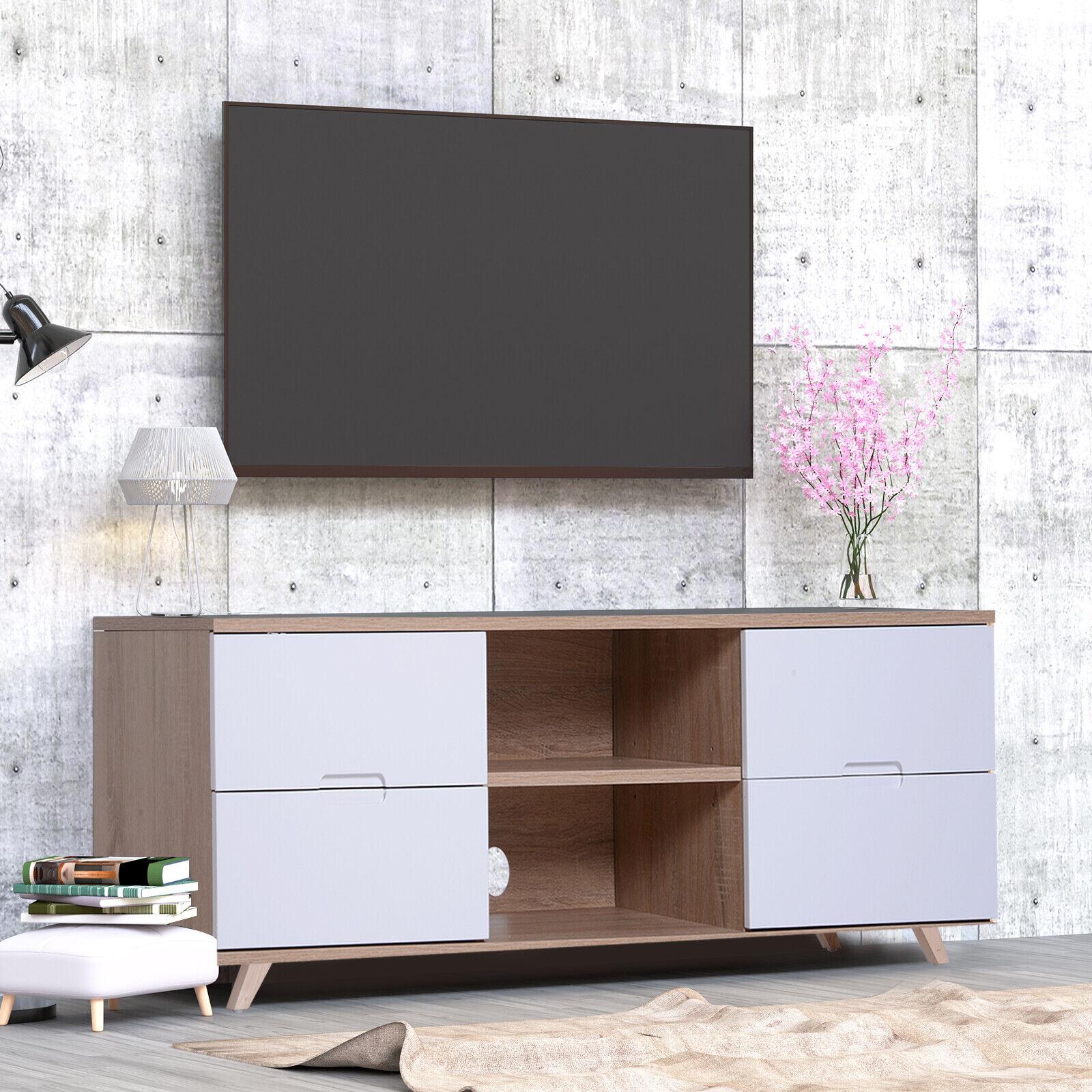 Fernsehtisch Fernsehschrank TV-Board Lowboard TV-Schrank 4 x Schublade 2 x