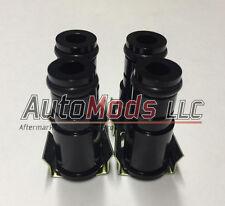 "Set of 4 1"" Fuel Injector Top Hat 1/2 inch Extender 11mm 11 dsm honda import"