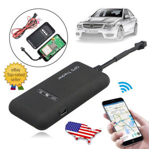Car Vehicle Real time GPS GPRS GSM Tracker Auto Caravan Tracking Device Locator