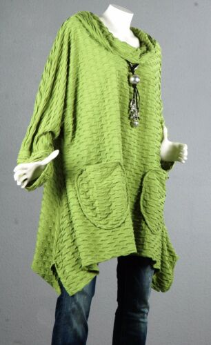 Pullover 60 Pullover Camicetta Tunic Long Topop Wool Kaschierwunder 54 Top SUzpMjqVGL