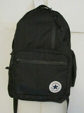 Converse Straight Edge Chuck Taylor All Star Unisex Backpack Black New with Tags