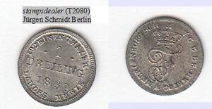 stampsdealer-Dreiling-1830-Mecklenburg-Schwerin-fast-Stempelglanz-T2080