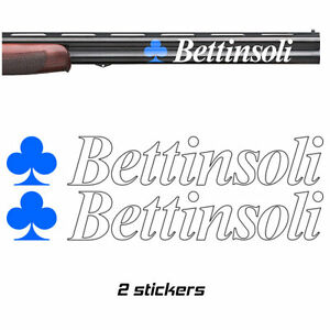 Details about 2x BETTINSOLI Vinyl Decal Sticker  3 sizes  10 colours
