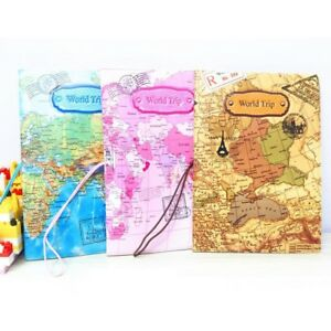 3d world map design passport holder organizer travel card document image is loading 3d world map design passport holder organizer travel gumiabroncs Choice Image