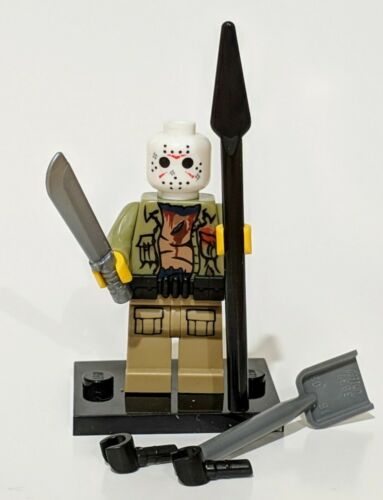 Official Lego /& custom parts see description UK Friday the 13th Part VI Jason