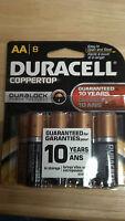 Batteries, Alkaline, Duracell, Aa, (8), Coppertop, Duralock Power Lock